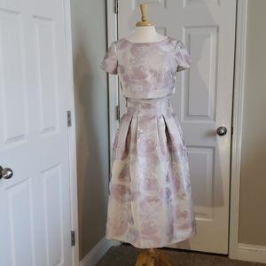 New Bigio Collection Pop Over Midi Dress Size 6